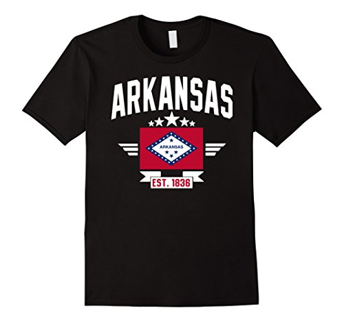 Arkansas Usa Flag Pride T Shirt