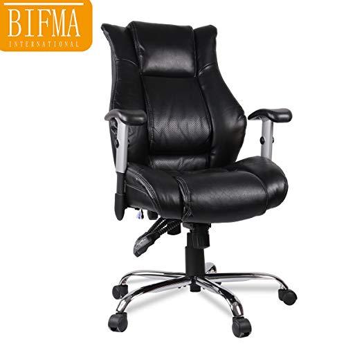 Smugdesk Executive Office Chair Ergonomic Heavy Duty Chair Adjustable Swivel