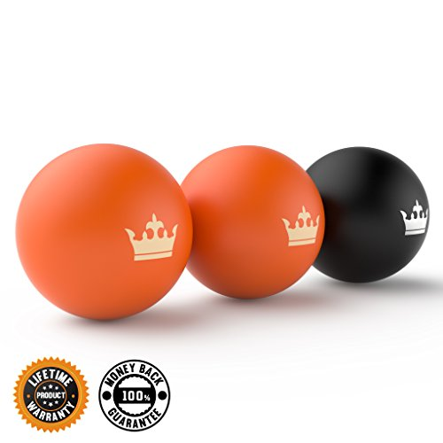 Muscle Roller Ball Set:: Massage Balls for Deep Tissue, Trigger Point & Myofascial Release:: Premium Quality