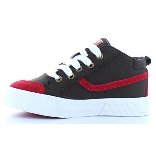 pour et ALBAN Garçon Chaussures Rouge Levis Marron Fille 508500 1x6dw