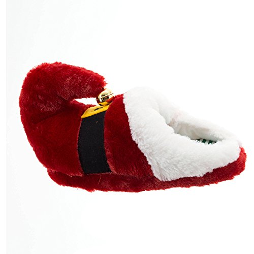Holiday Time Mujeres Santa Slipper