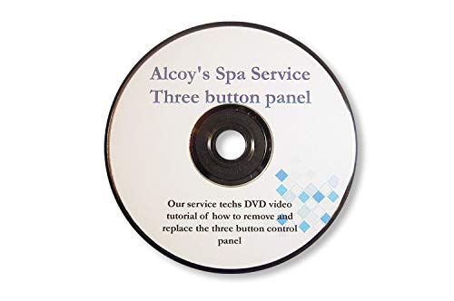 Button kit for Three posistion control panel on/off button replacement oyster with dvd tutorial by Jacuzzi Whirlpool Bath (Image #2)