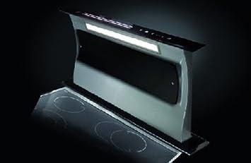 Concepto Cocina Cuba Campana extractora de encimera Retráctil Tapa (90 cm), acero inox. / Cristal: Amazon.es: Bricolaje y herramientas