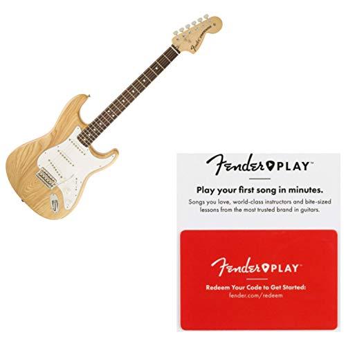 Fender Classic Series '70s Stratocaster Pau Ferro FB Natural Guitar w/Prepaid F