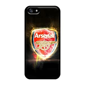 Iphone 5/5s IoX11302NFCH Provide Private Custom High Resolution Arsenal Skin Perfect Hard Phone Cases -CharlesPoirier