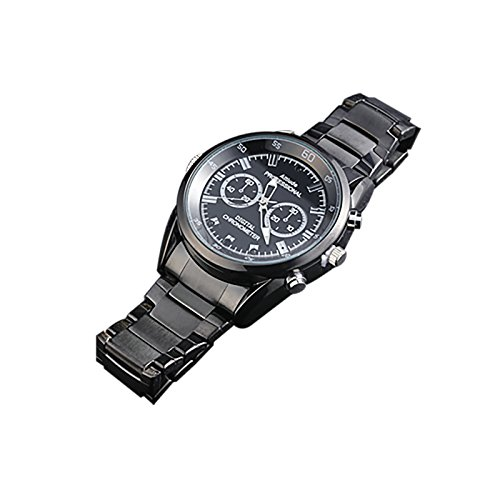 Wrist Watch Wearable Hidden Spy Camera, Black (RSCWA -1) ()