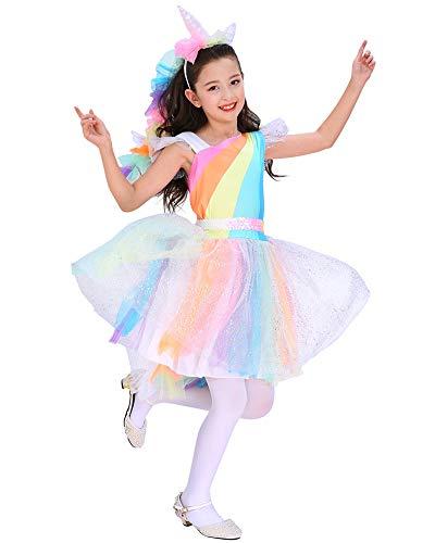 Make 4 Seasons Halloween Costumes (Seasons Direct Halloween Girls Rainbow Unicorn Costume)