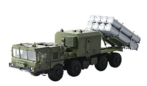 Modelcollect 1/72 Russian military Bal-E self-propelled coastal Kh-35 anti-ship cruise missile system MZKT chassis Plastic (Russian Self Propelled)
