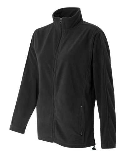 - Featherlite Ladies' Full-Zip Micro-Fleece (Charcoal) (M)
