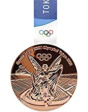 2020 Tokyo Olympics Medaille Replica Model Met Ketting Collection Souvenirs Voor Olympische Fans Studenten Awletes Awards Copper