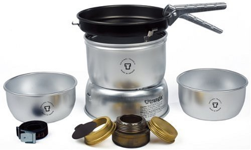 Trangia 27-3 Ultralight Alcohol Stove Kit, Outdoor Stuffs