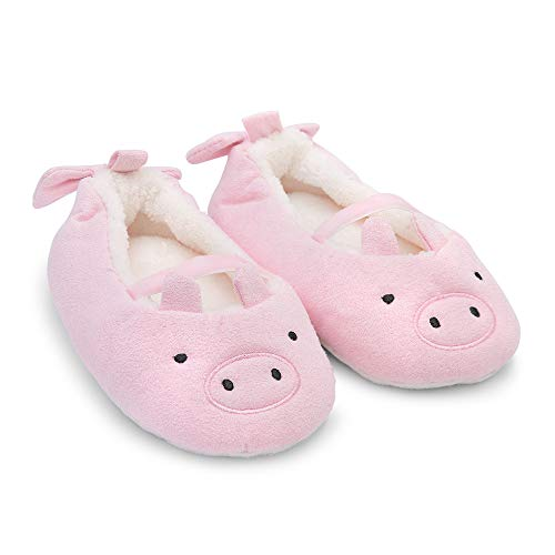 Toddler Unisex Baby Girls Infant Boys Goldbug Kids Super Soft Plush Non-Slip Gripper Slippers