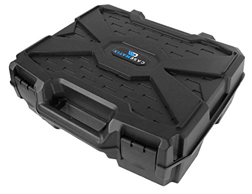 "Price comparison product image CASEMATIX Deluxe DJ Hard Travel Carrying Case (17"") for Remix Station or Sub Controller and Accessories - Fits Pioneer DDJ-SP1 / RMX-1000 / RMX-500"