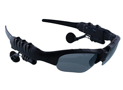 Eoncore Wireless Sports Stereo Bluetooth Headset Handfree Sunglasses Talk Music Eyes Glasses Headset - Sunglasses Combined Glasses And