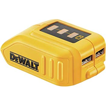 12V/20V Max 2 Port USB Power Source Compatible with Dewalt ...