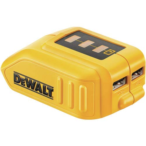DEWALT DCB090 12V/20V Max USB Power Source (BATTERY NOT INCLUDED)