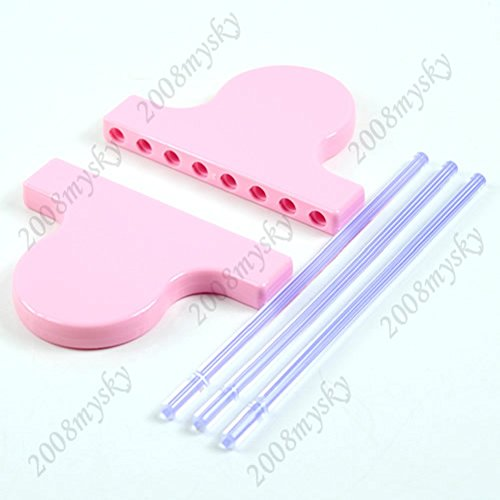 Kocome Set of Hairpin Lace Loom Crafts Yarn/Wool Knitting Tool Easy Knit for Scarf Lace (Hair Tool Lace Pin)