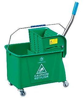 ELITE Kentucky Mop Bucket And Wringer Heavy Duty Blue