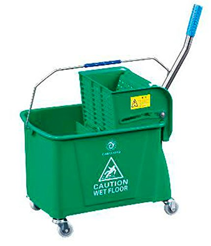 Kentucky Mop Bucket And Wringer Heavy Duty ELITE® ( Green ) HKT