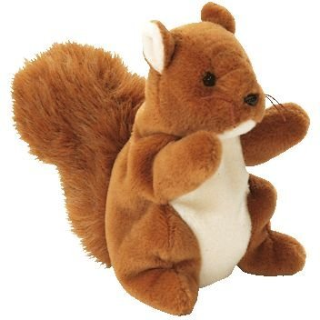 Ty Beanie Babies  NUTS The Squirrel