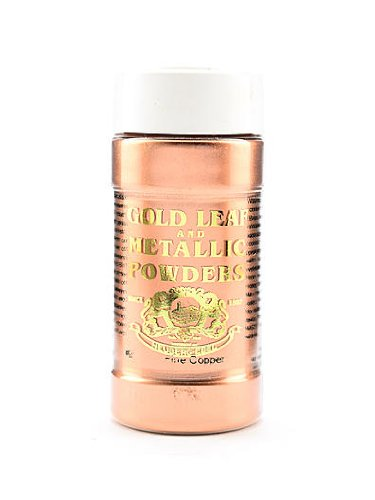 Gold Leaf & Metallic Co. Metallic and Mica Powders fine copper 2 oz.