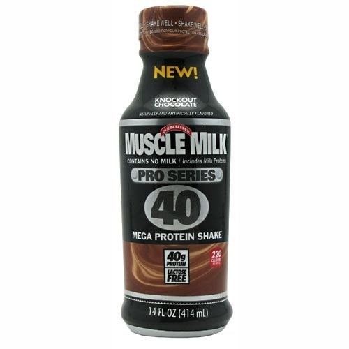 Cytosport – Muscle Milk Protein Shake RTD, Pro Series 40, Knockout Chocolate, 40 Gram Protein, 14 Fl Oz, 12 Count For Sale