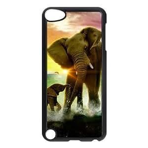 DIY Case for Ipod Touch 5 - Lovely Elephant ( WKK-R-77509 )