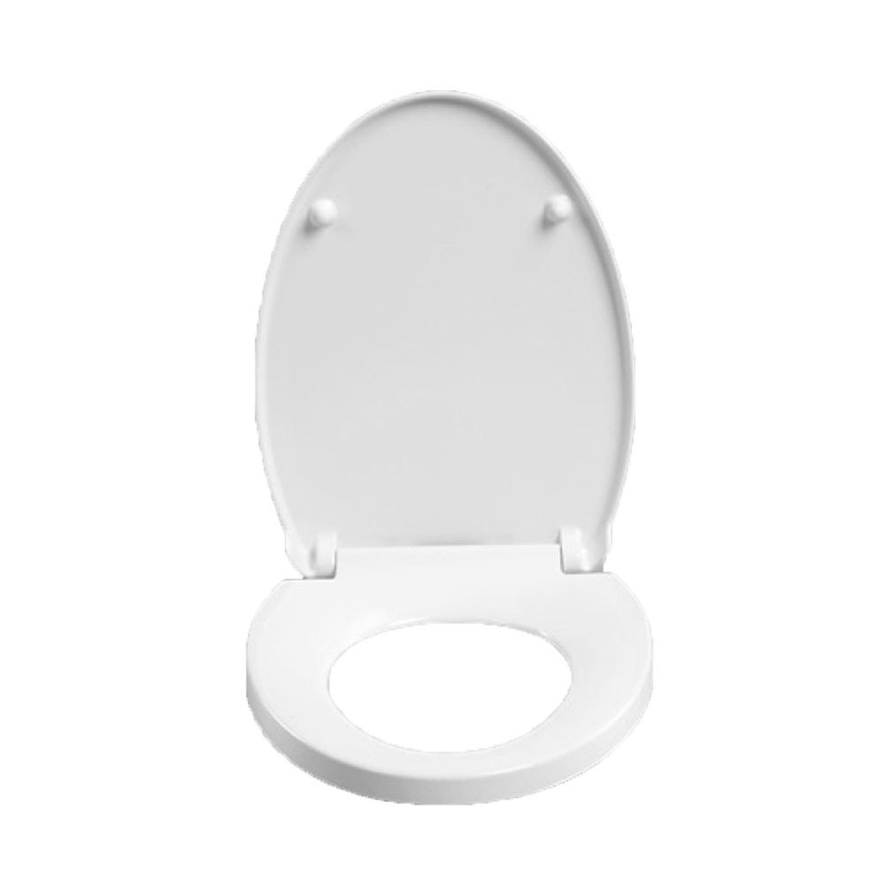 A LDFN Universal Toilet Seat Toilet Step-down Thicken Mute Cover Seat Antibacterial,B