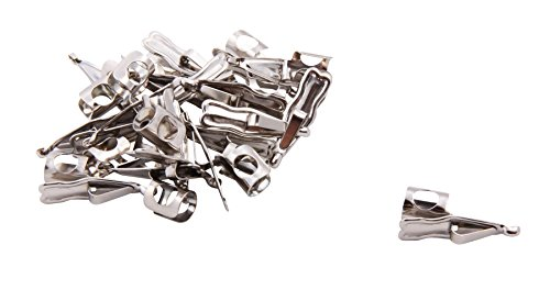 (Baumgartens Pencil Clips 100 Pack Chrome)