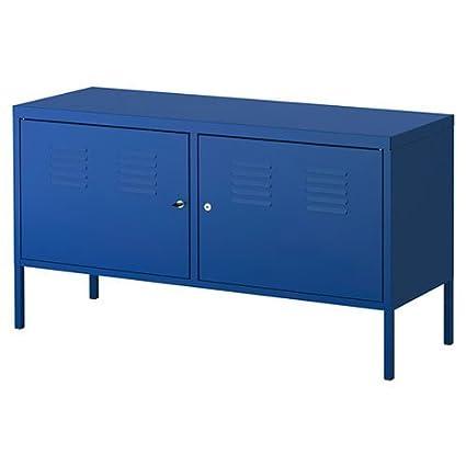 Ikea Blue Cabinet Tv Stand Multi Use Lockable