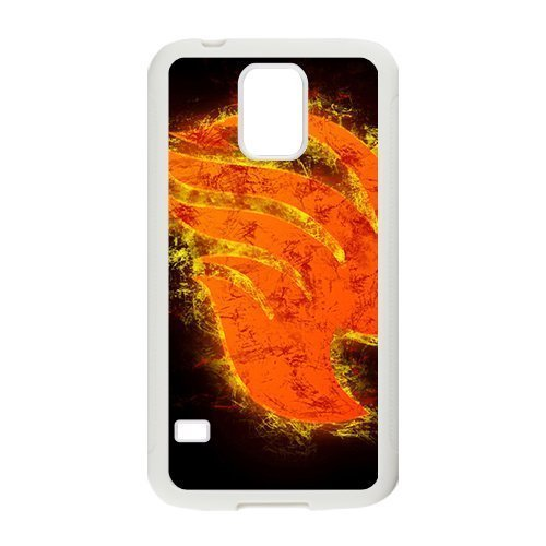 Burning Fairy Tail Cell Phone Case for Samsung Galaxy S5 (Tail Fairy S5 Galaxy)
