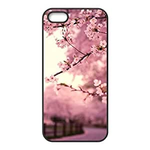 Beautiful spring Pink peach blossom scenery Phone For Iphone 6 4.7 Inch Case Cover (Hard shell)