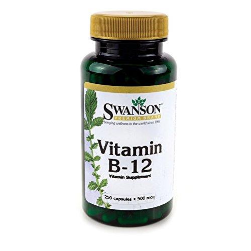 Swanson Vitamin B 12 Cyanocobalamin Caps