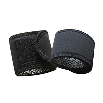 JINSEQ Pair Fitness Adjustable Wrist Support Straps Wraps Sports Wristband Warm Wrist Band Estimated Price £16.21 -
