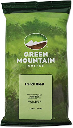 GMT4441 - Green Mountain Coffee Roasters French Roast Coffee Fraction (French Roaster)