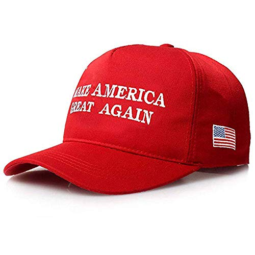 Bestmaple Make America Great Again Hat, 2020 Trump Cotton MAGA Baseball Cap Red