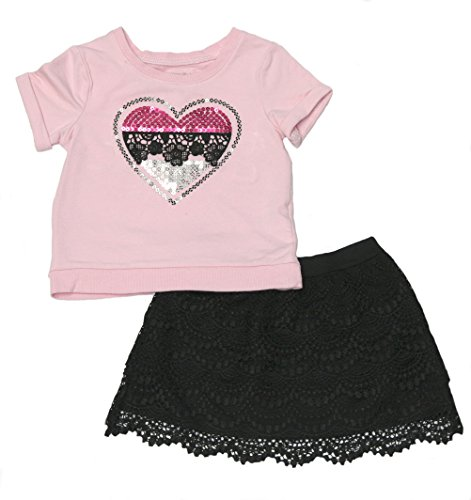 - Flapdoodles girls two-piece skirt set (8)