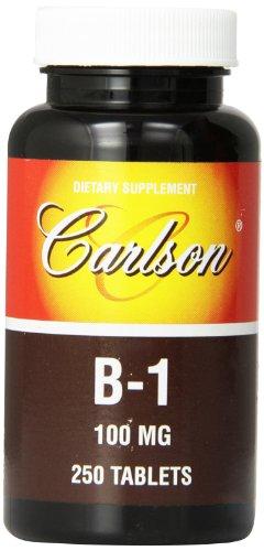 Carlson Labs Vitamin 100mg Tablets