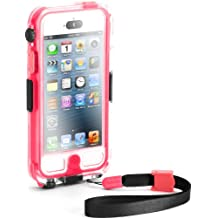 Griffin GB35563 Survivor Waterproof and Catalyst for iPhone 5-Retail Packaging-Pink
