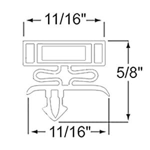 Delfield 170 1285 H Magnetic Door Gaskets For Freezers