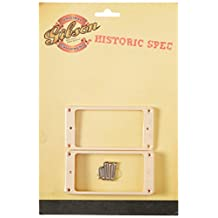 Gibson Gear Historic Pickup Mounting Ring Set, Crème