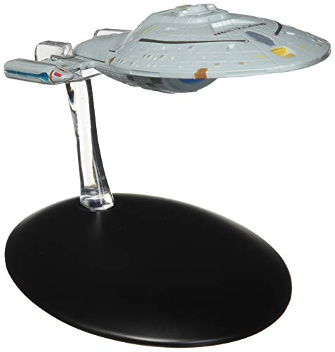 (Eaglemoss Publications Star Trek The Official Starships Collection #5: USS Voyager Ship Replica Toy, Multicolor)