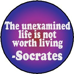"""an analysis of the unexamined life which is not worth living in socrates In """"the apology,"""" socrates famously proclaimed, """"[the] unexamined life is not  worth living  section iii contains an analysis of the differences in the  the  court to judicially determine that he should not have been allowed to live, but  when."""