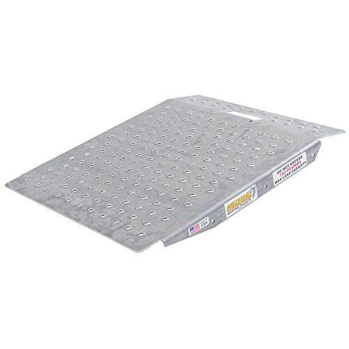 Curb Ramp Aluminum (Guardian SR-01-24-24-P-TS6 Shed Ramp with Punch Plate Surface)