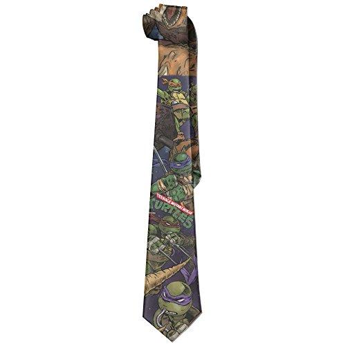 Atoggg Men's Teenage Mutant Ninja Turtles Skinny Slik Tie/Necktie/Ties (Ninja Turtles Ps4 compare prices)