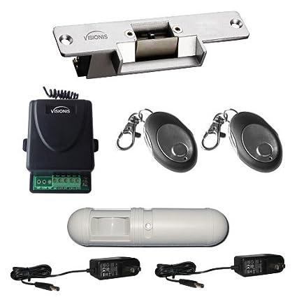 Visionis FPC-5347 Kit Control de Acceso de Una Puerta con Cerradura Eléctrica VIS-