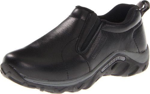 Merrell Jungle Moc Leather (Toddler/Little Kid/Big Kid),Black,4.5 M US Big Kid ()