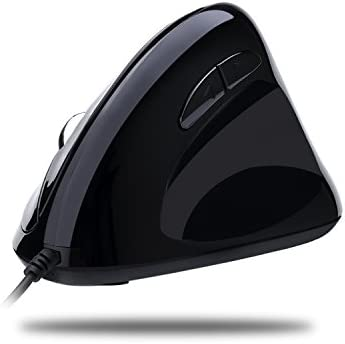 Adesso Imouse E3 - Vertical Ergonomic Programmable Gaming Mouse Adjustable Weight
