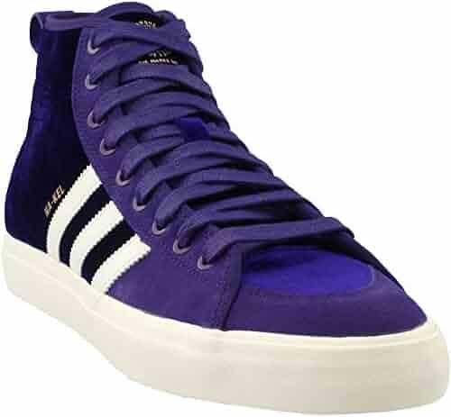 cdd009882d1 adidas Matchcourt High RX Na-Kel (Purple White Gold Metallic) Men s