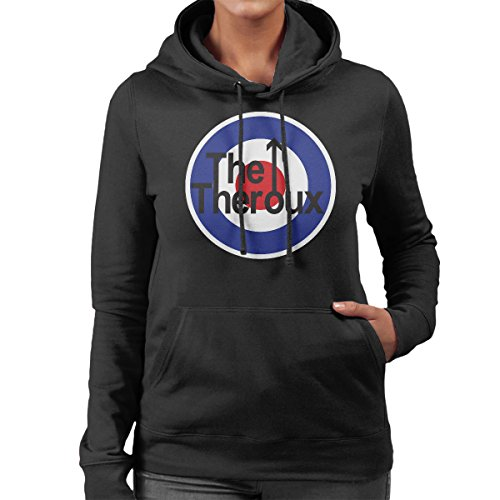 Hooded Black Louis Women's Who Theroux The Sweatshirt Logo Coto7 xRSAqnS